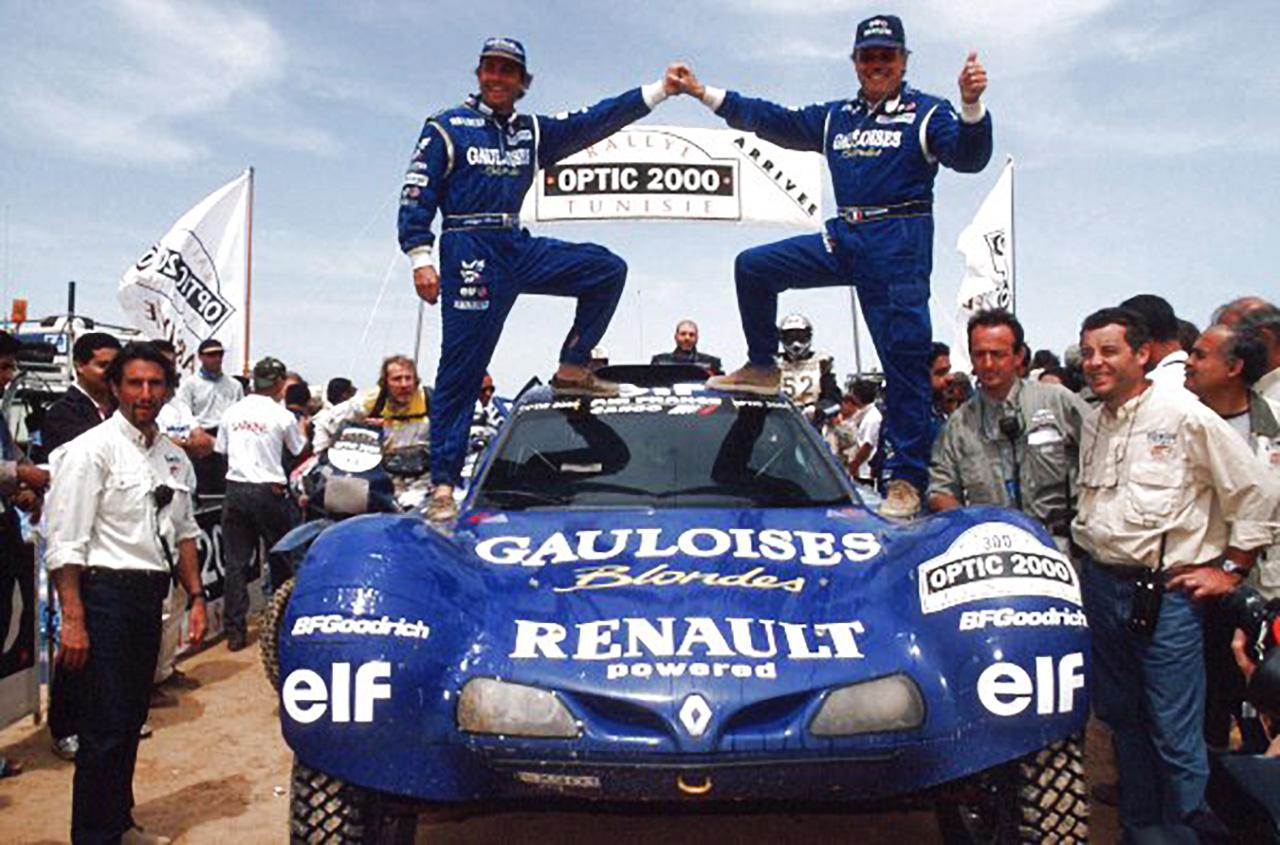 Schleisser Monnet - Vainqueurs - Dakar 1999