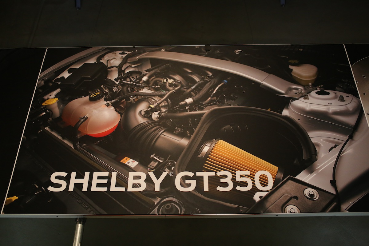 Ford - 5.2-liter V8 in the 2016 GT 350 Mustang