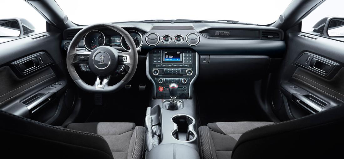Shelby GT350 - Intérieur