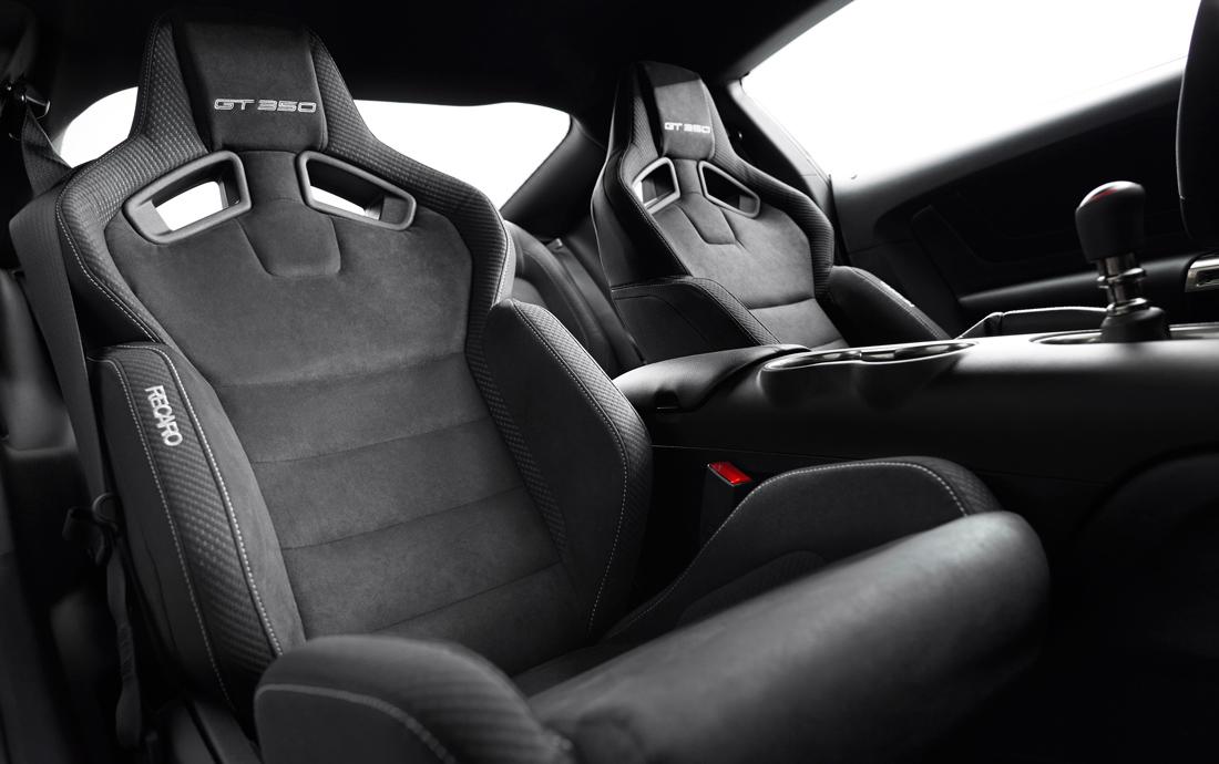 Shelby GT350 - siège