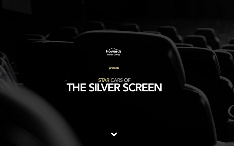 Star Cars of The Silver Screen - Infographic by Howards Motor Group