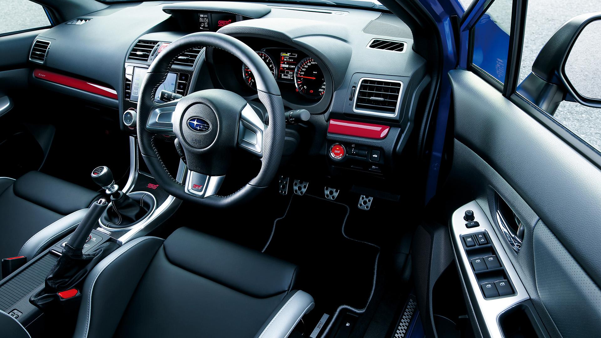 Subaru WRC STI - S207 - 2016 - intérieur / interior