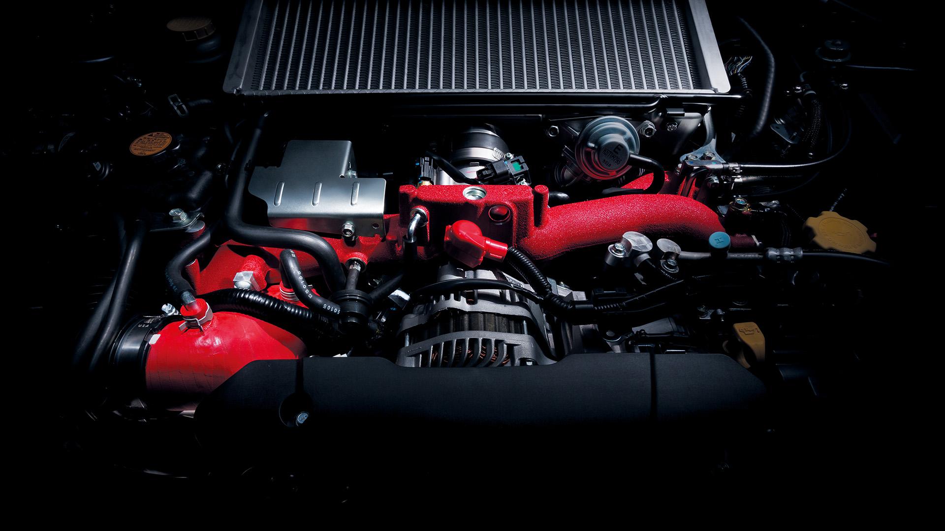 Subaru WRC STI - S207 - 2016 - moteur / engine
