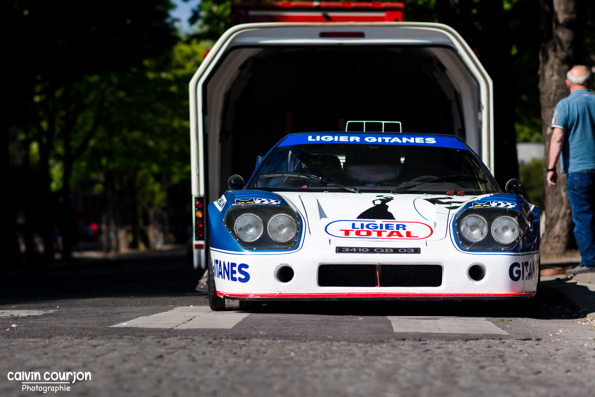 Ligier JS2 Cosworth - Tour Auto 2015 - Calvin Courjon Photographie