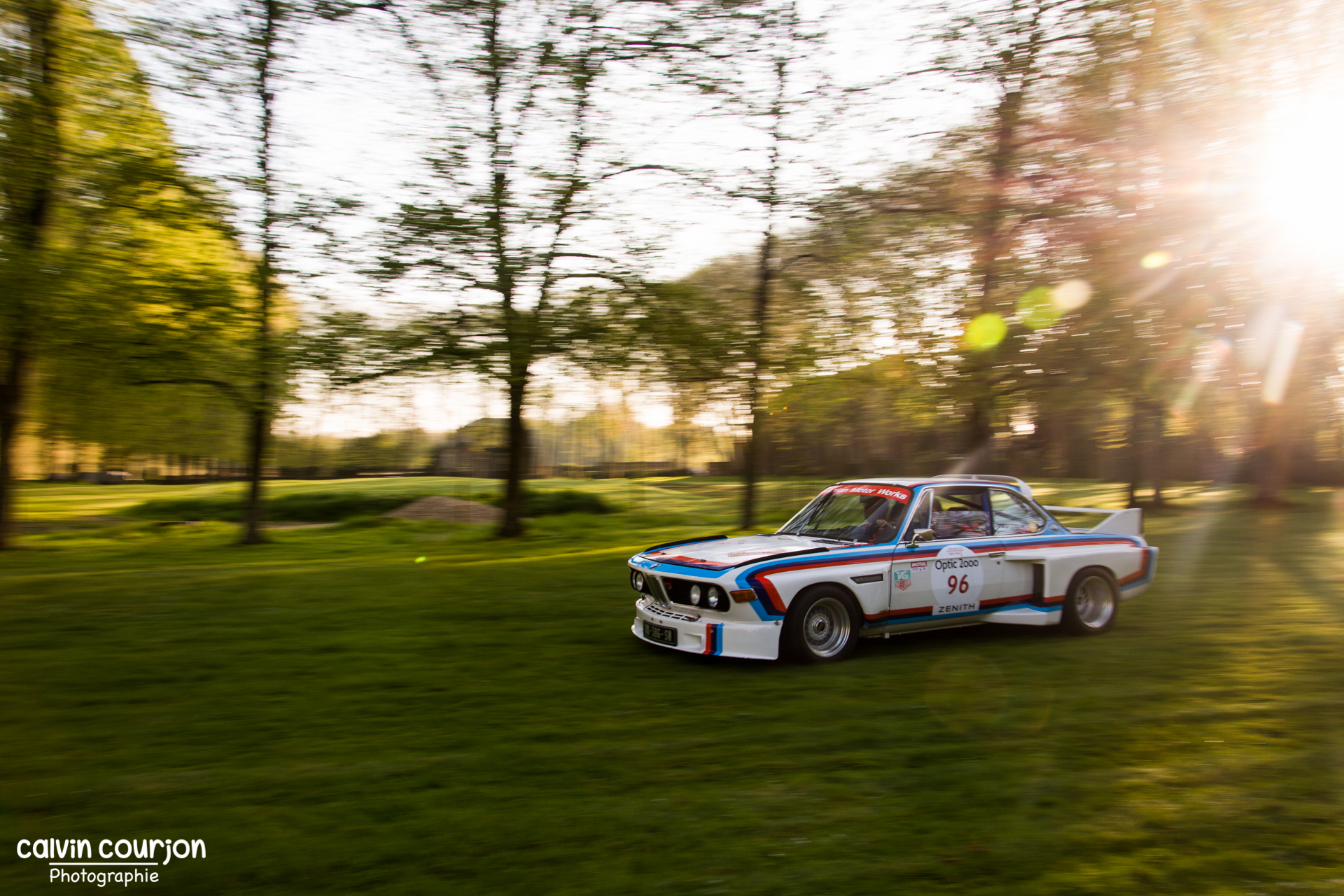 BMW 3.0 CSL - Tour Auto 2015 - Calvin Courjon Photographie