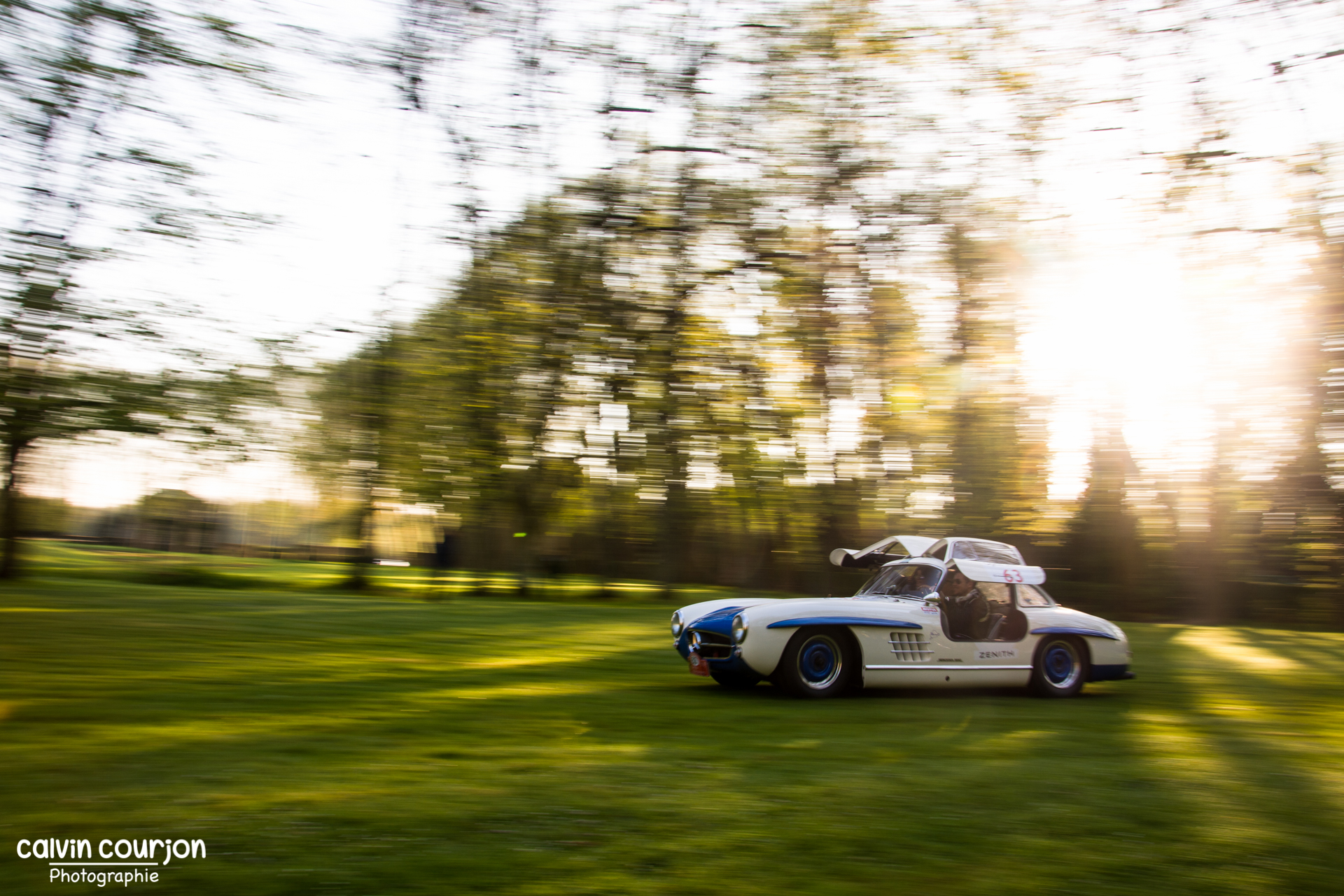 Mercedes 300 SL Gullwing - Tour Auto 2015 - Calvin Courjon Photographie
