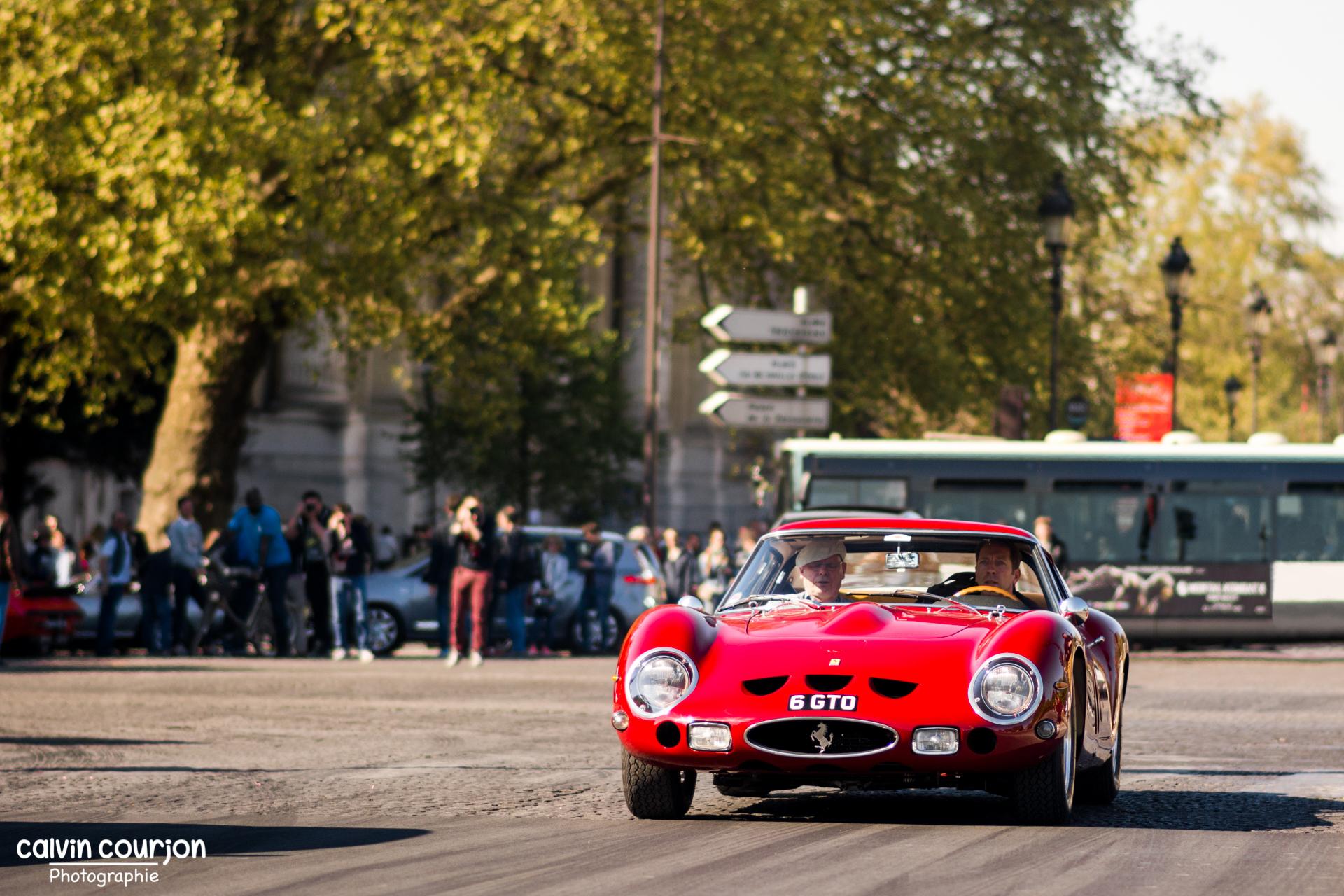 Ferrari 250 GTO - Tour Auto 2015 - Calvin Courjon Photographie
