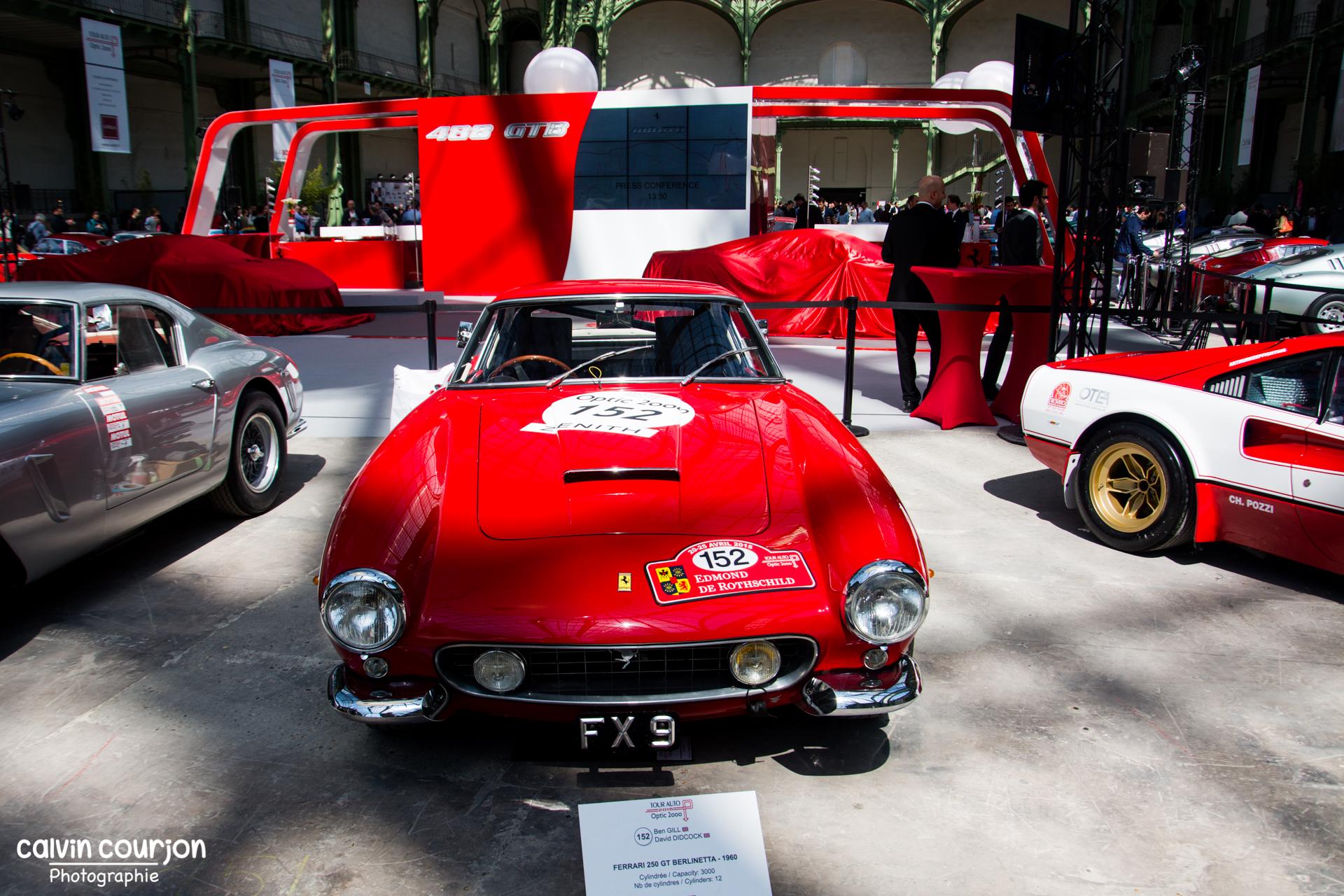Ferrari 250 SWB - Tour Auto 2015 - Calvin Courjon Photographie