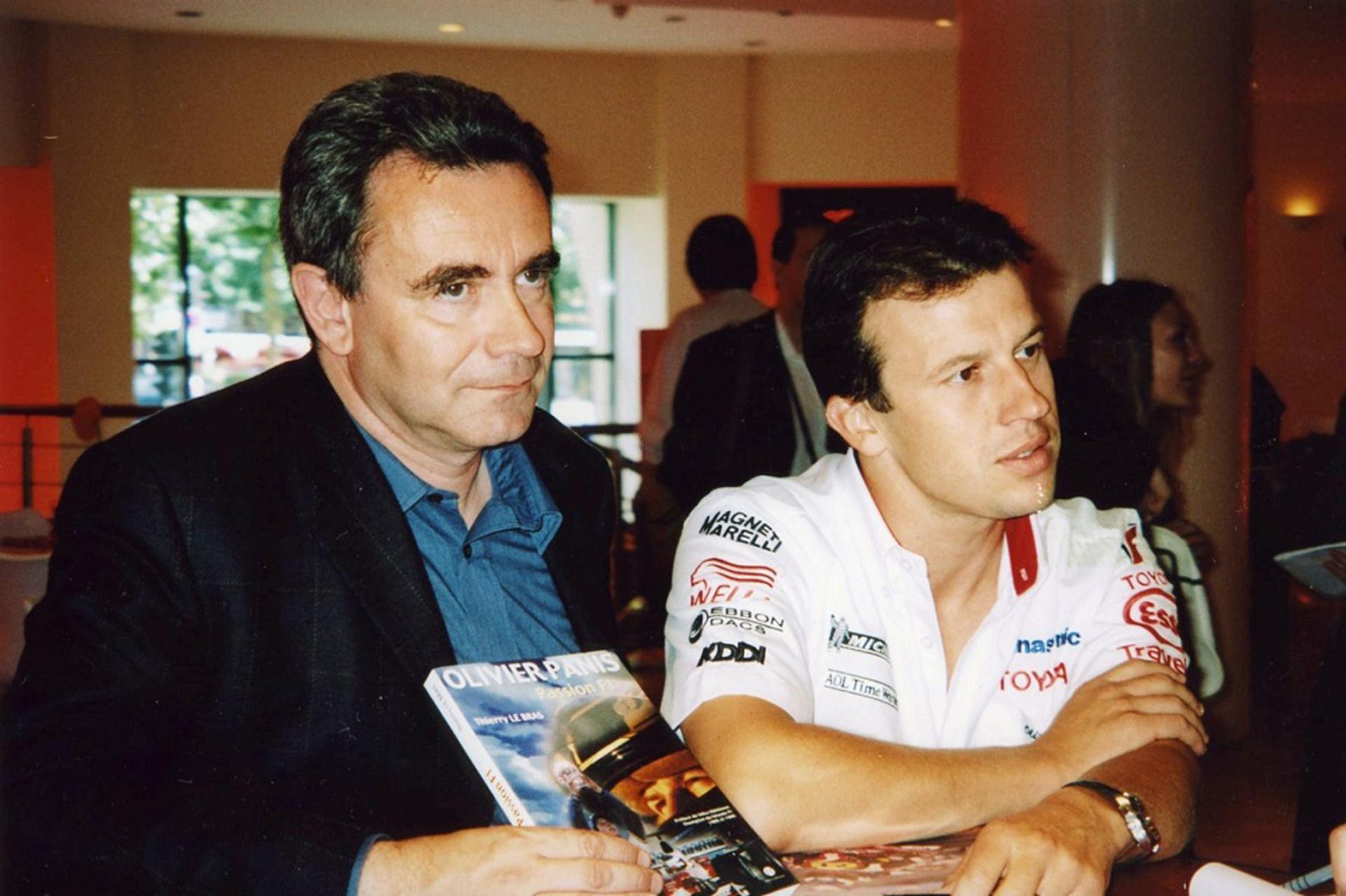 THIERRY LE BRAS avec OLIVIER PANIS en 2003