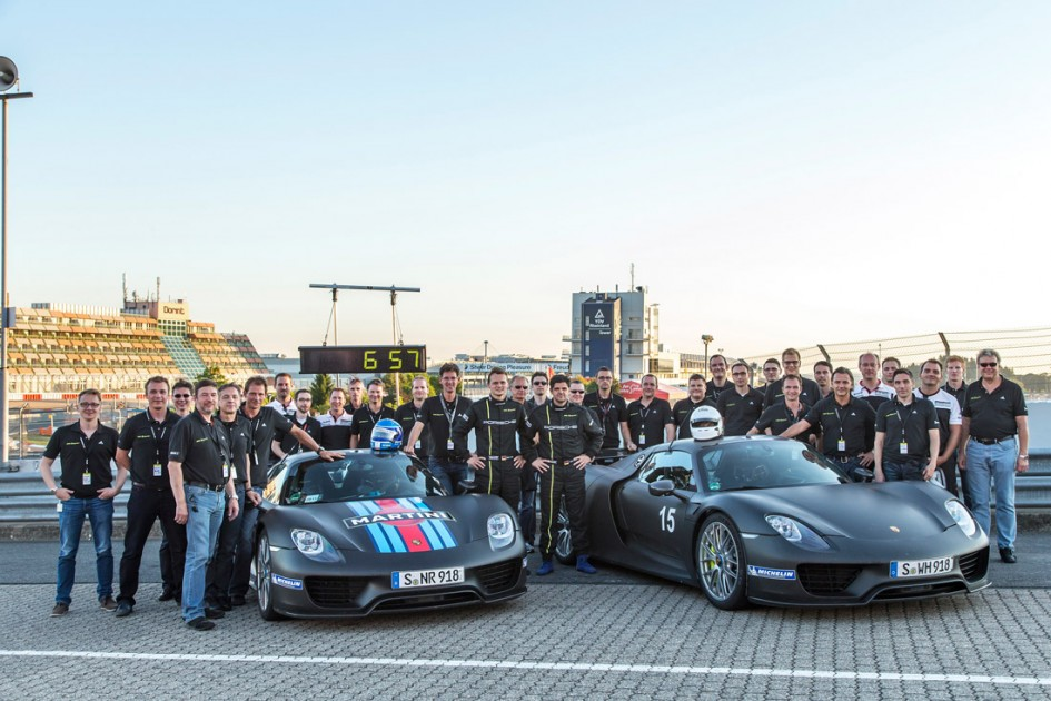 Team Porsche 918 Spyder