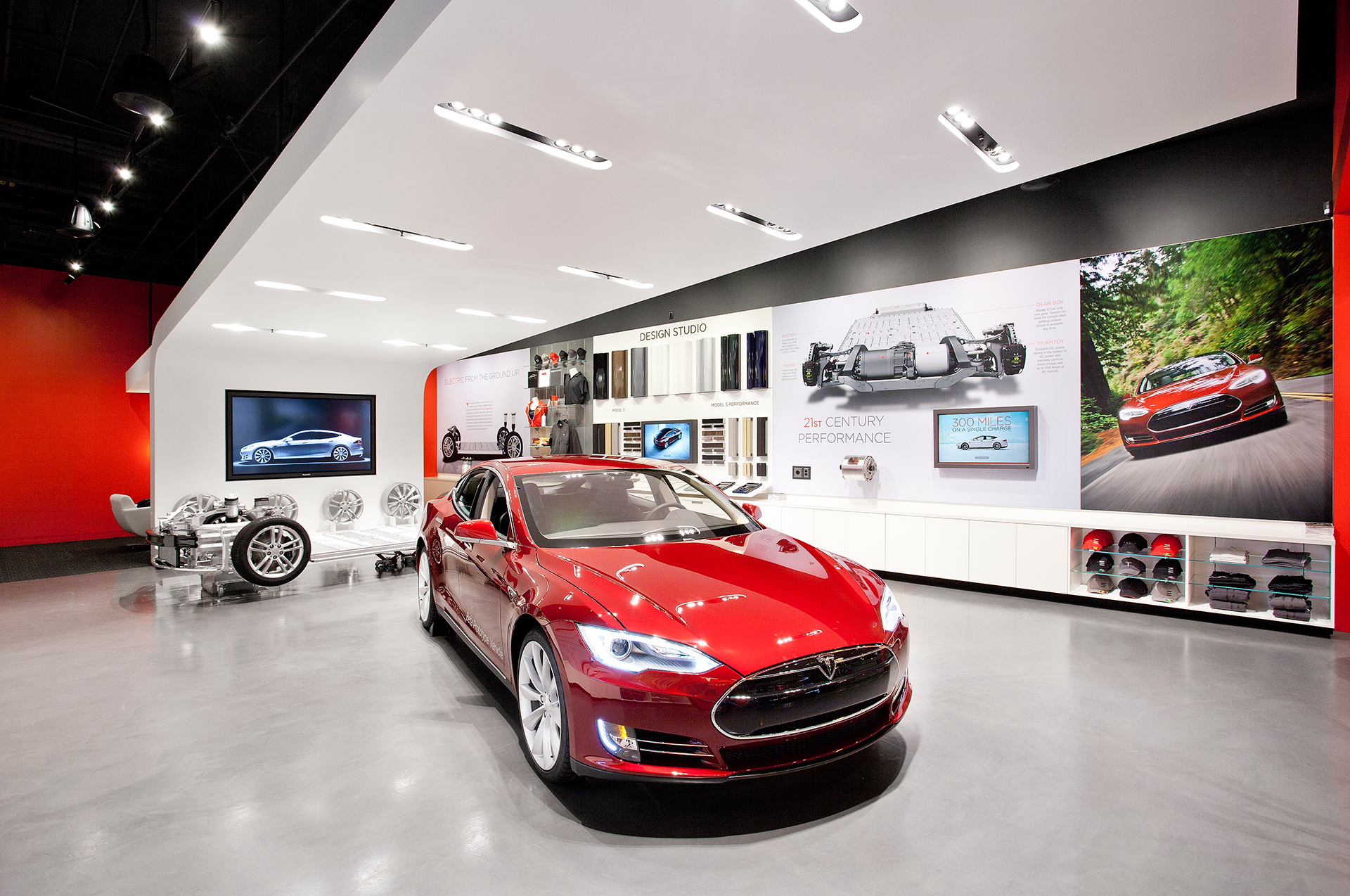 Tesla Motors - car dealership / concession Tesla Motors (USA)