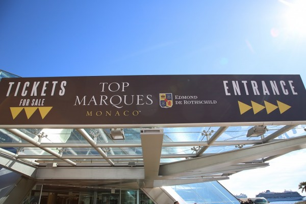 Top Marques Monaco - 2016 - photo entrée