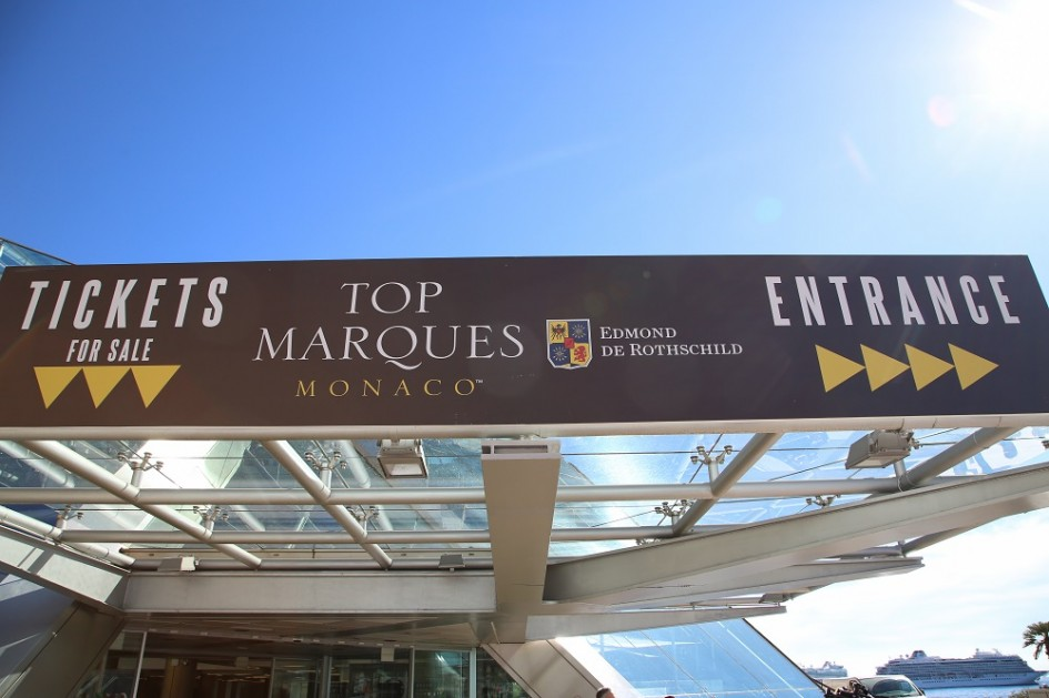Top Marques Monaco - 2016 - photo entrée