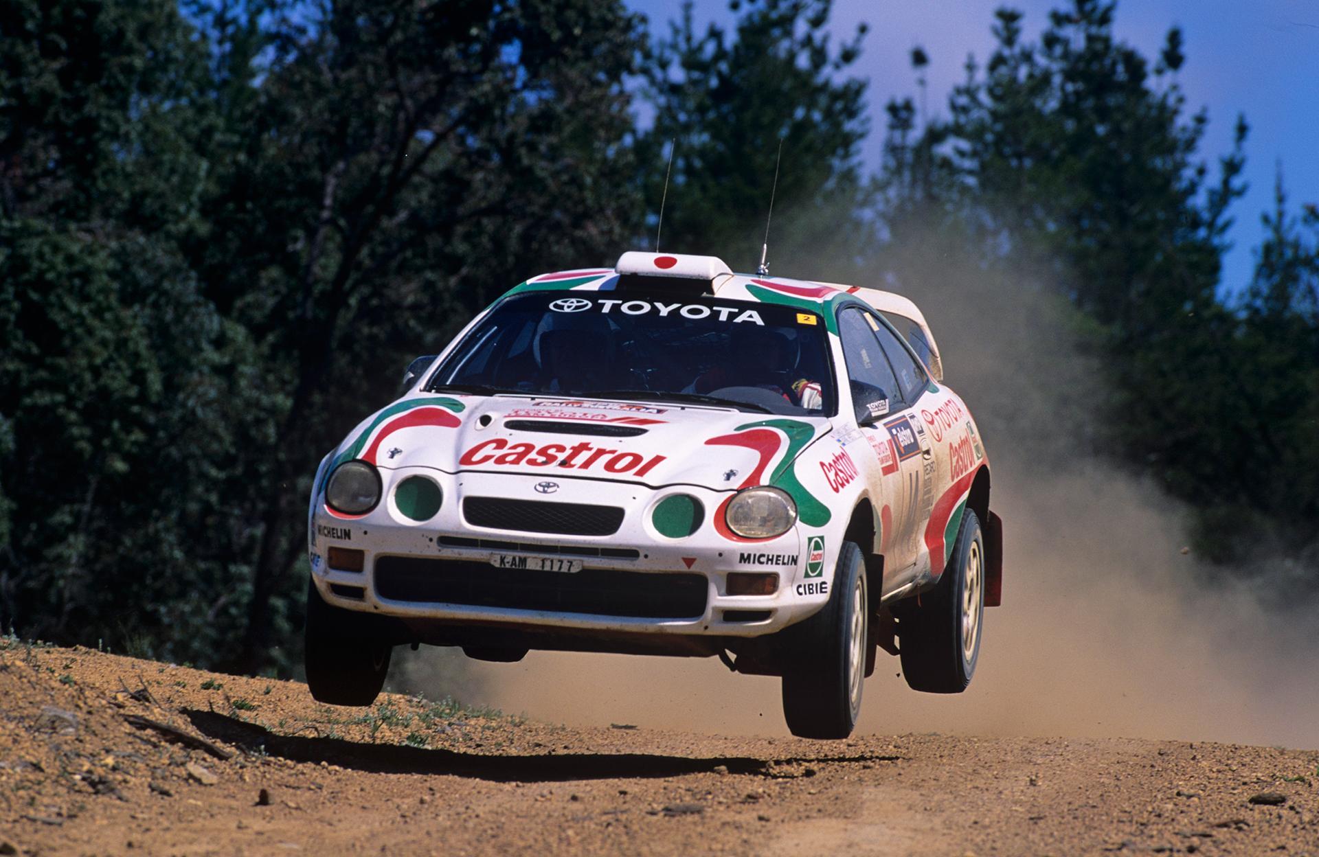 Toyota Castrol Celica GT Four WRC
