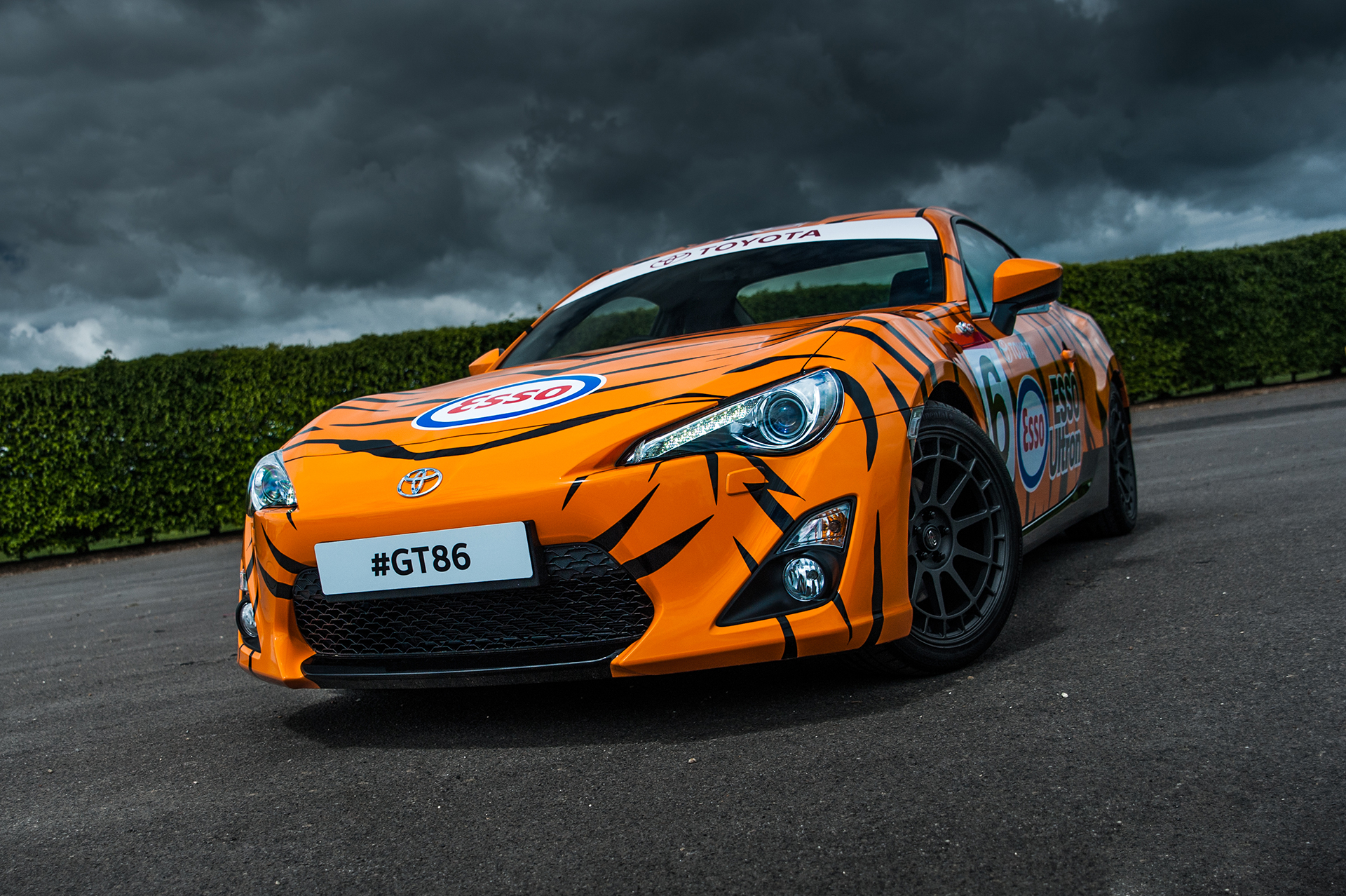 Toyota 86 Livery >> Toyota GT86 à l'honneur au Festival of Speed 2015