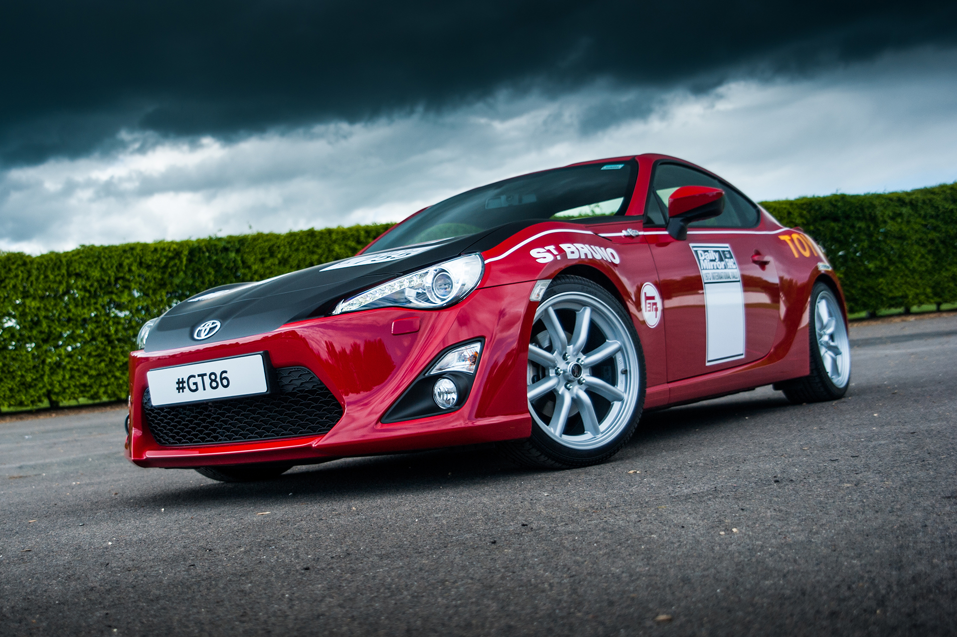Toyota GT86 - classic-livery - Ove Andersson Celica 1600GT
