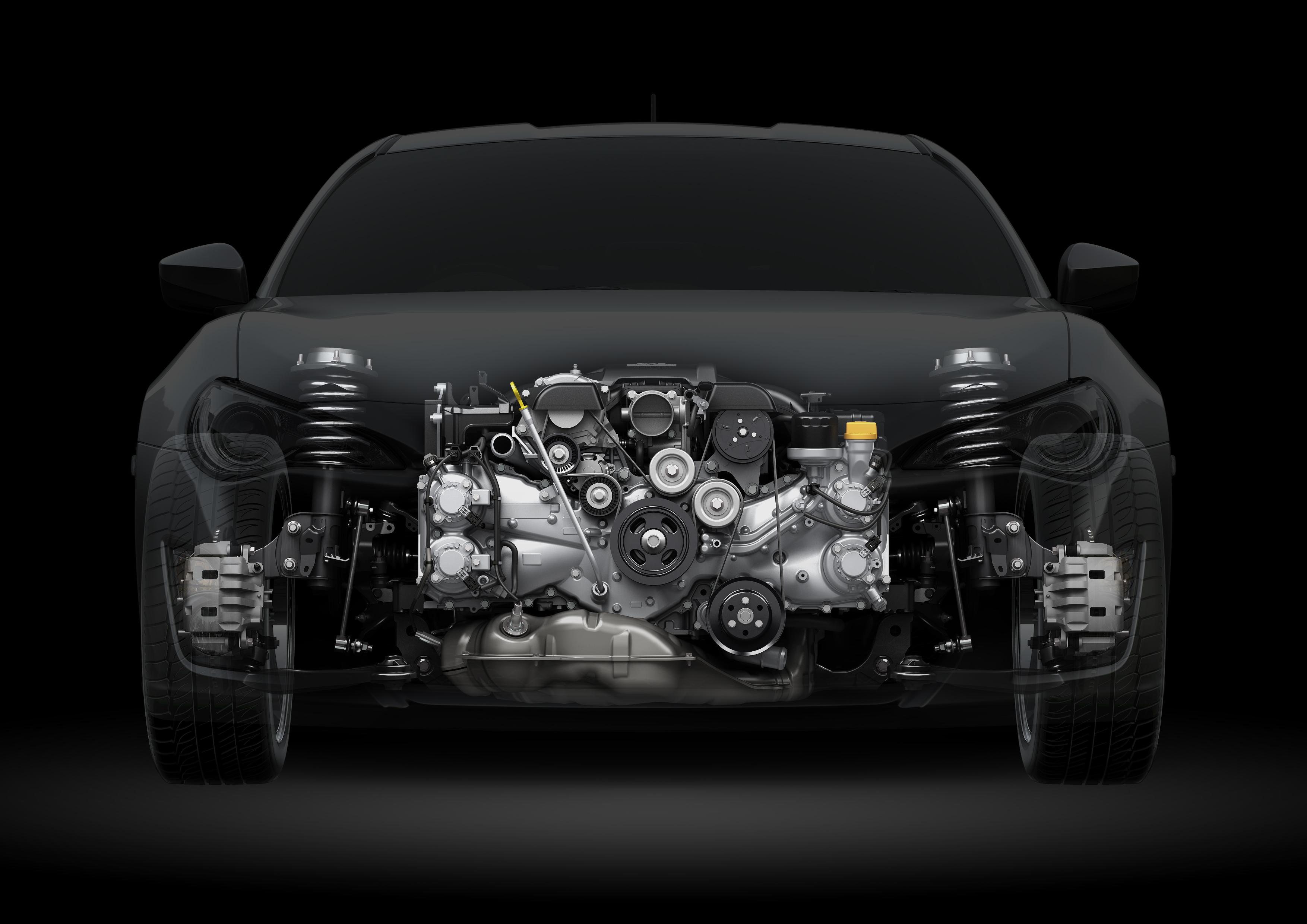 Toyota GT86 - front / avant - engine / moteur