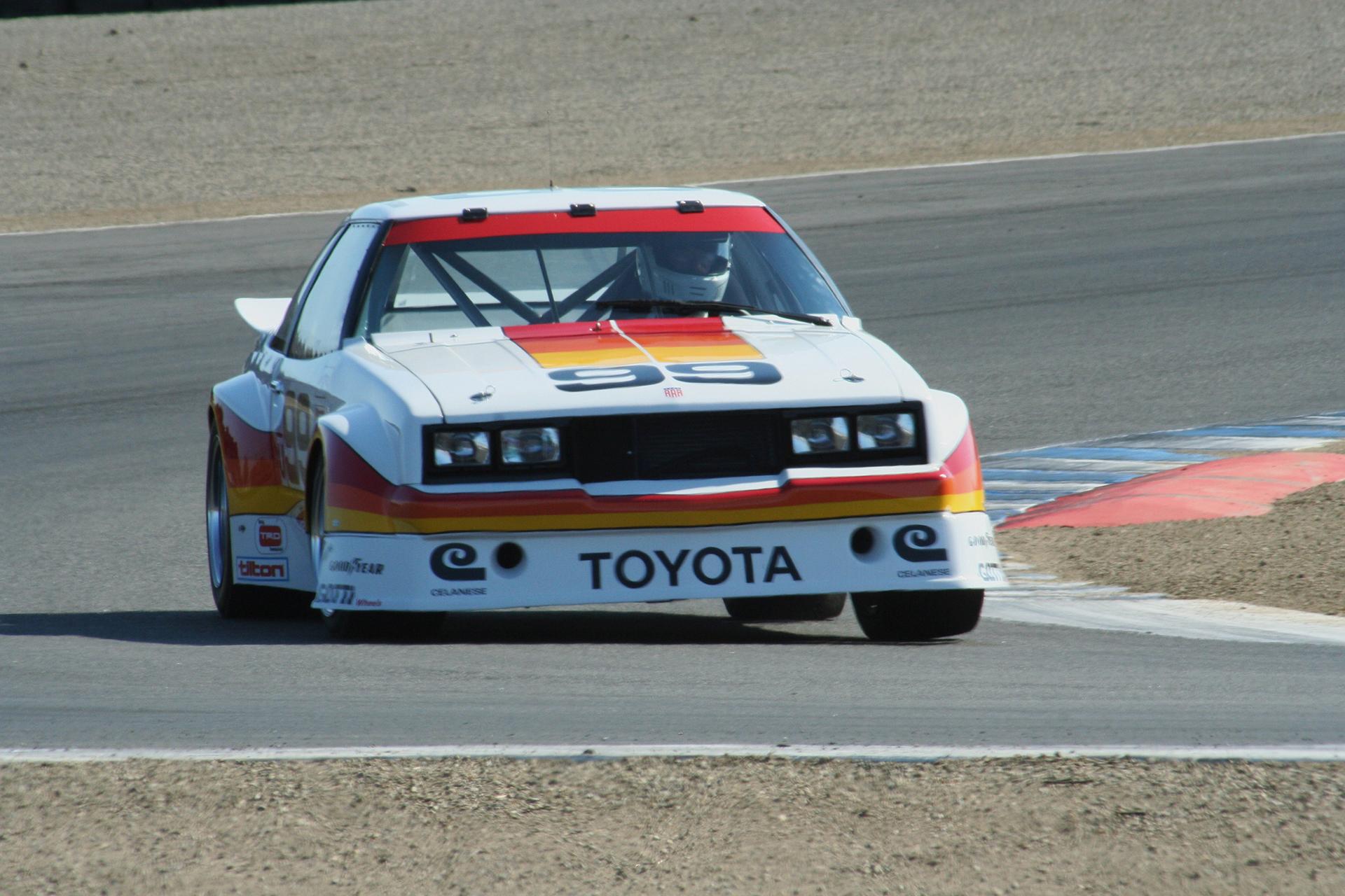 Toyota IMSA GTU class Celica