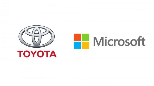 Toyota Microsoft - logotypes