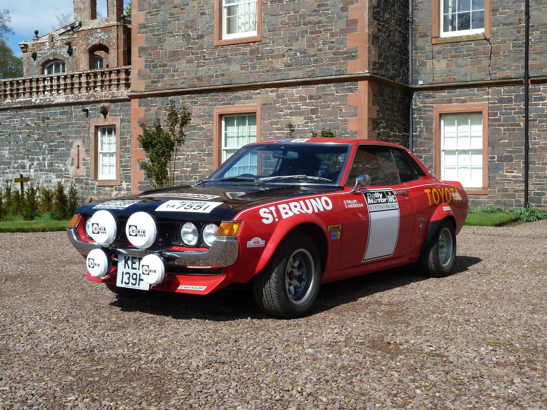 Toyota Ove Andersson Celica 1600GT