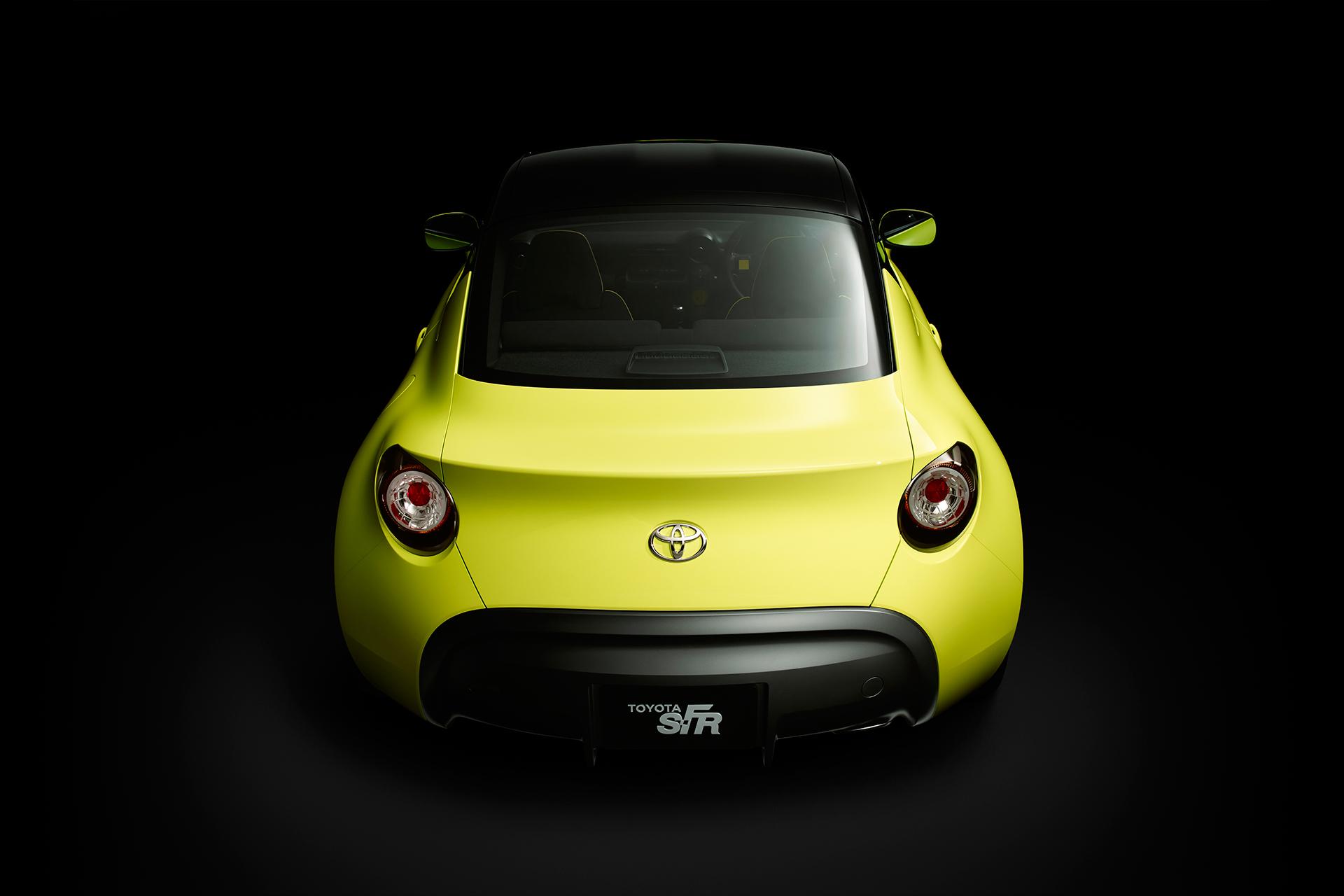 Toyota S-FR Concept - 2015 - arrière / rear - toit / top