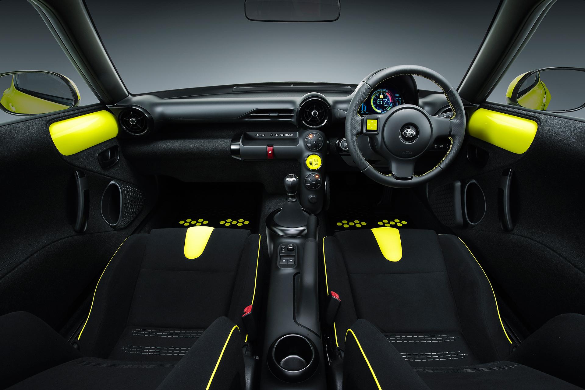 Toyota S-FR Concept - 2015 - intérieur / interior