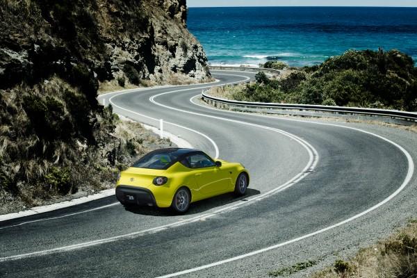 Toyota S-FR Concept - 2015 - sur route / on road