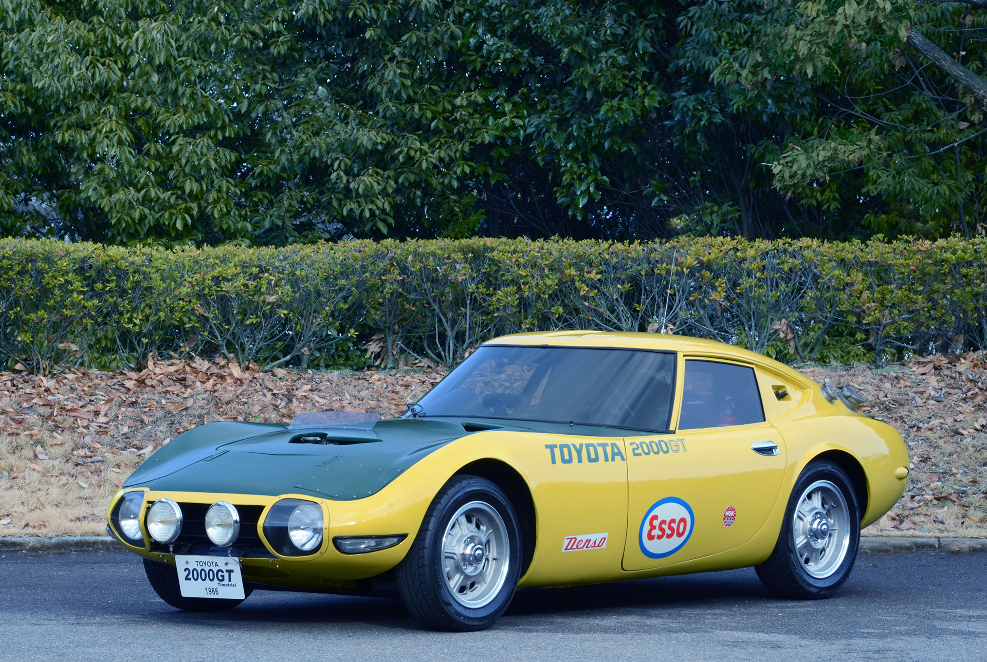 Toyota Yatabe Speed Trial 2000GT