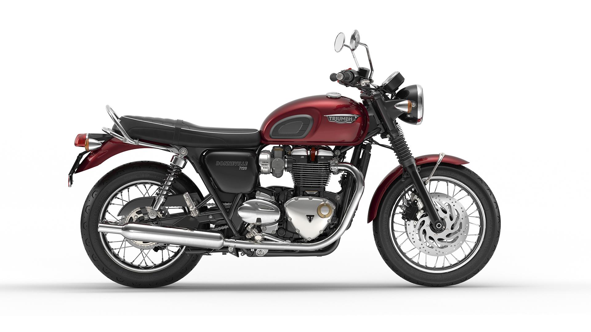 Bonneville And Son >> Triumph Bonneville T120 : la renaissance de la classic