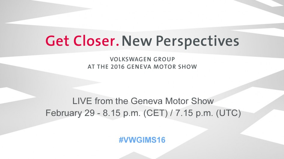 VW Group 2016 new perspectives