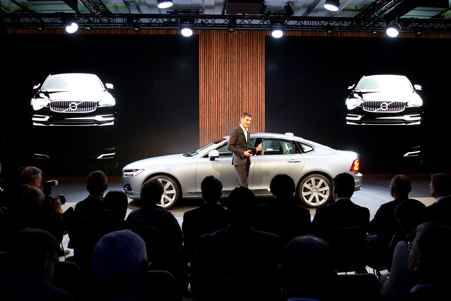 Volvo S90 - 2016 - Sweden Press show, 2015 / Présentation Presse en Suède, 2015