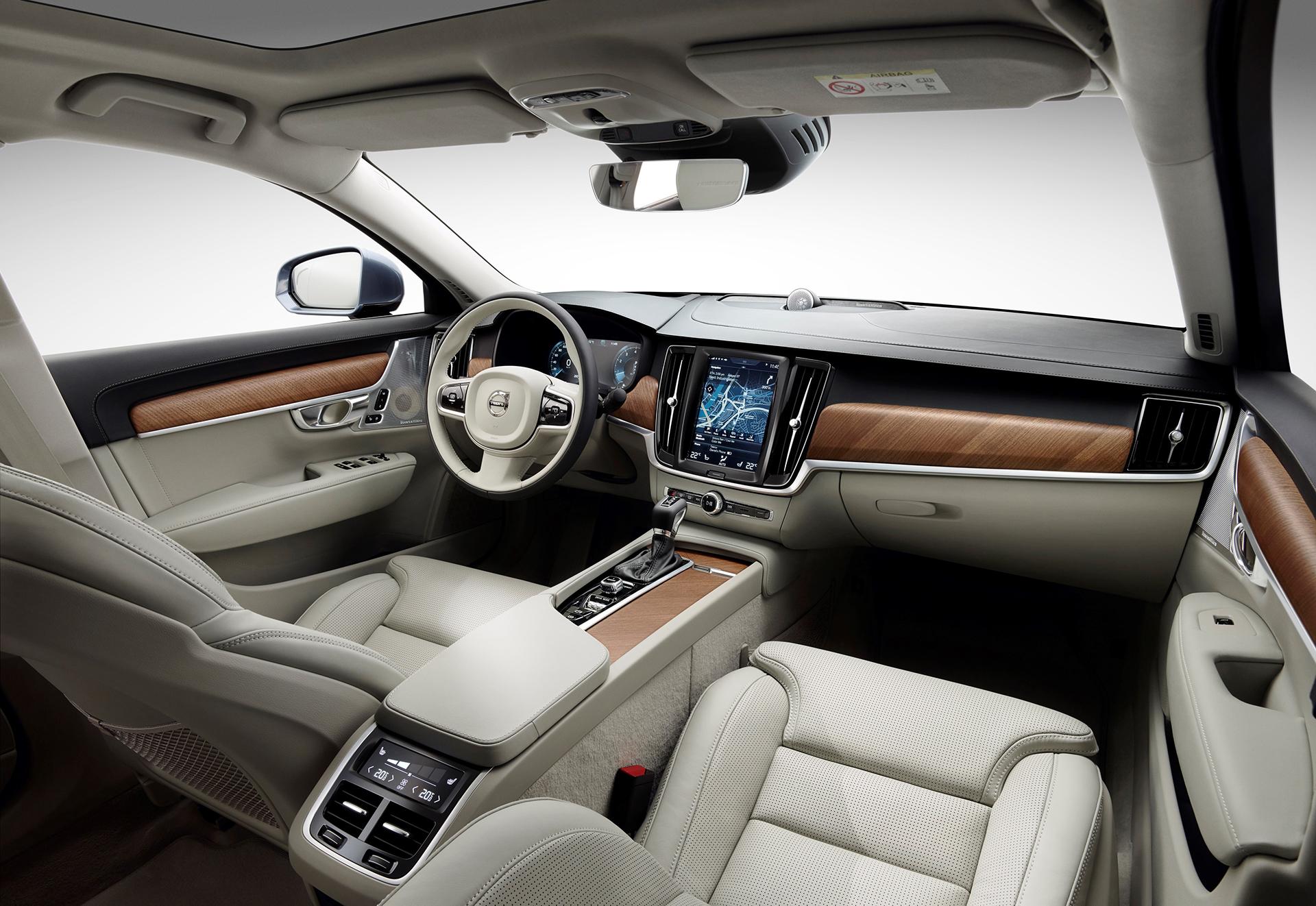Volvo S90 - 2016 - interior / intérieur