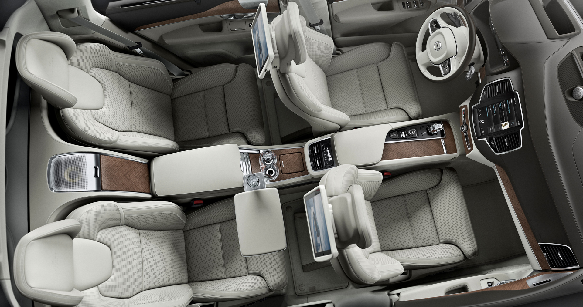 Volvo XC90 Excellence - interior / intérieur