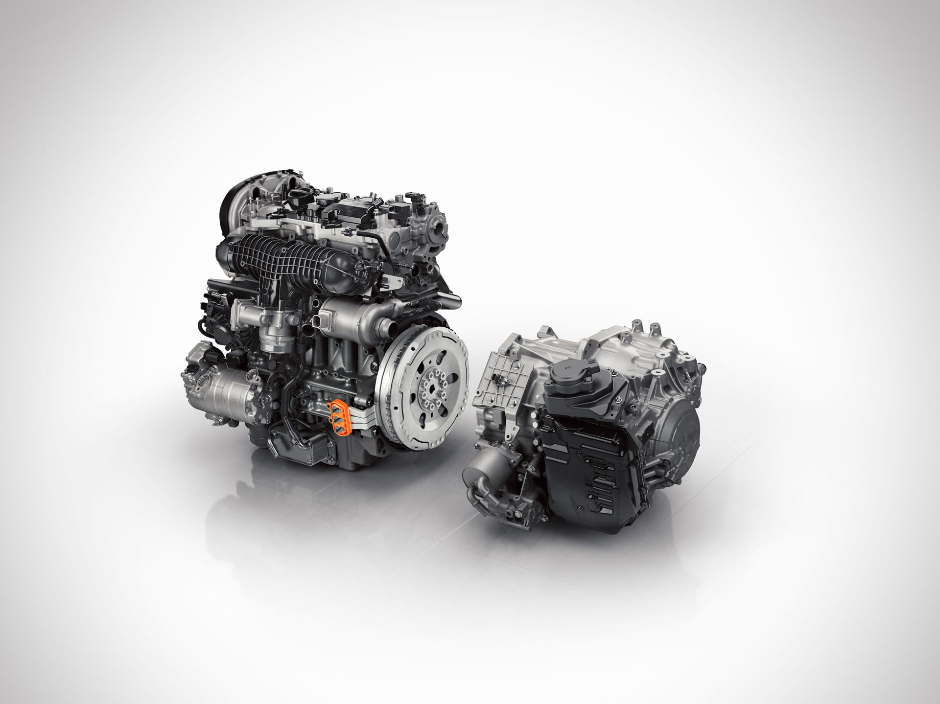 Volvo XC90 - Powertrain ISG
