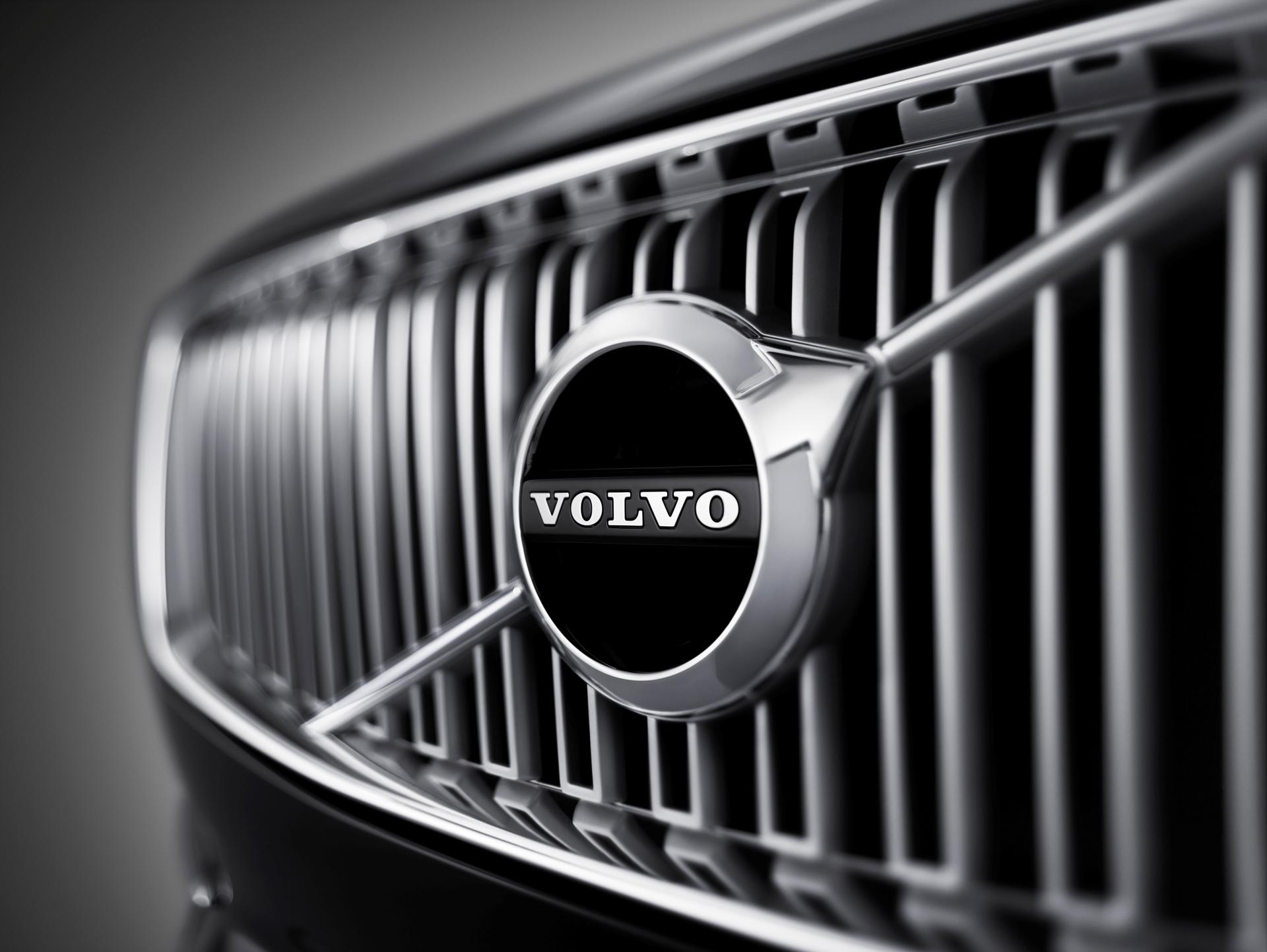 Volvo XC90 - front logo / logo avant