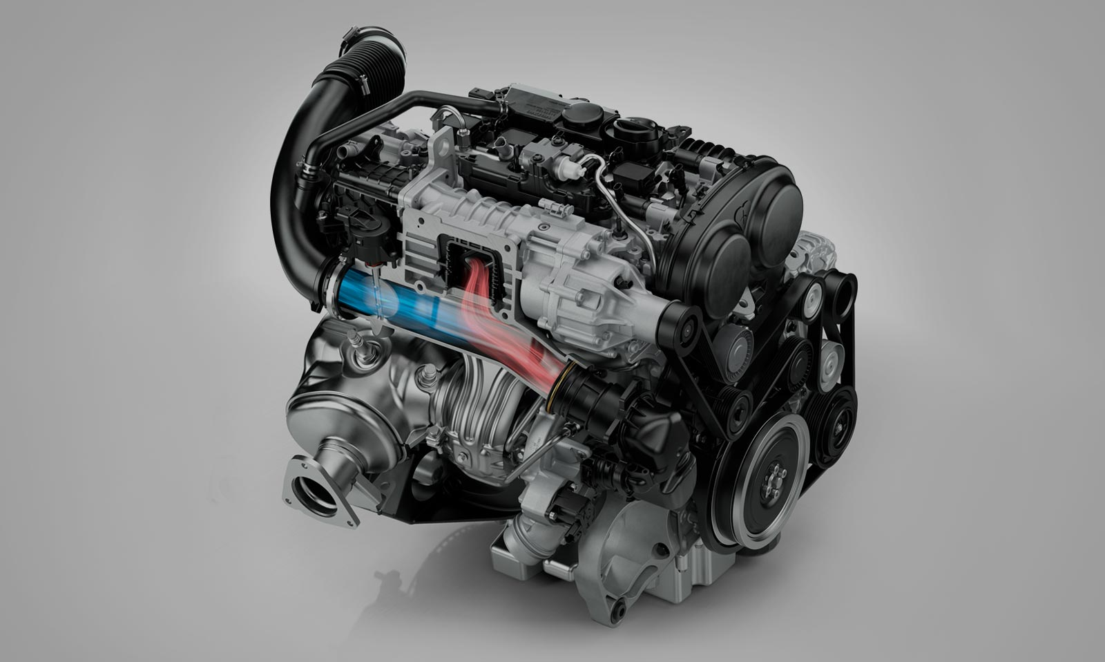 Volvo XC90 - engine T8 / moteur T8