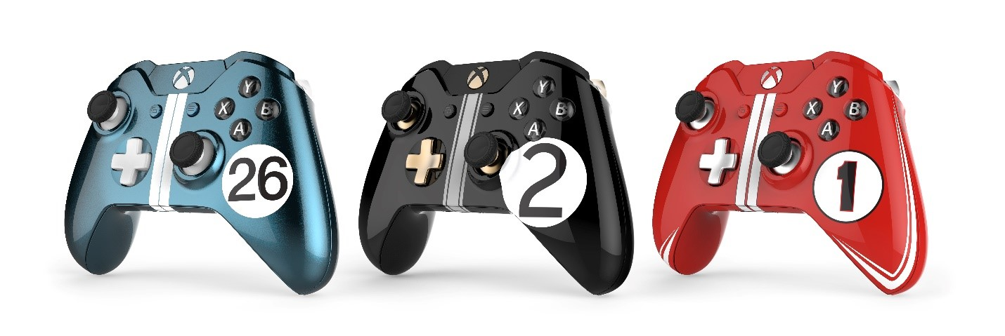 Xbox controllers - Le Mans Hero