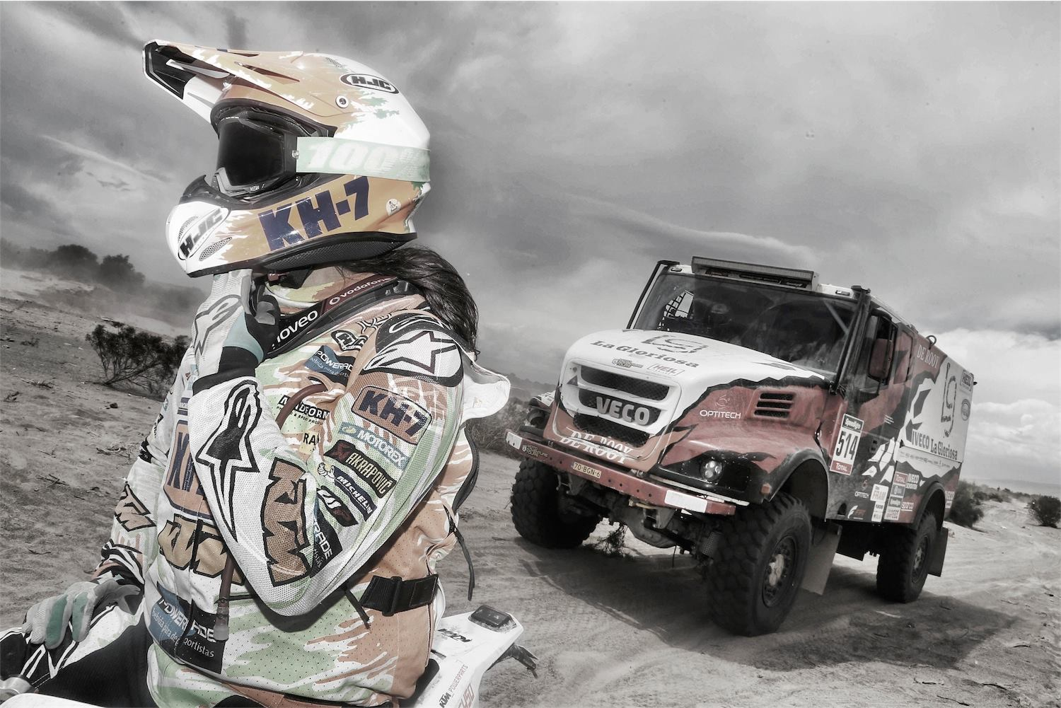 adventure - Dakar 2016 - photo by A Lavadinho - A Vialatte