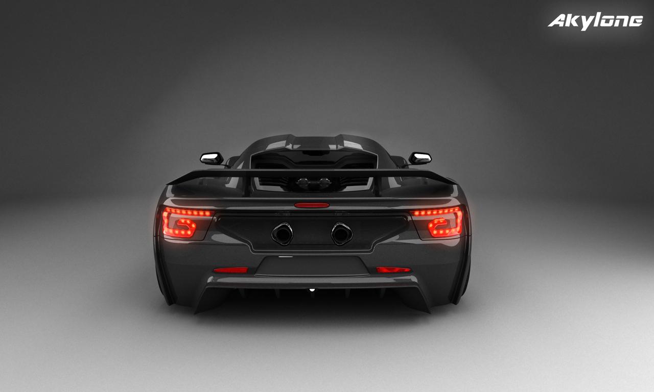 Arrière de l'Akylone - Genty Automobile