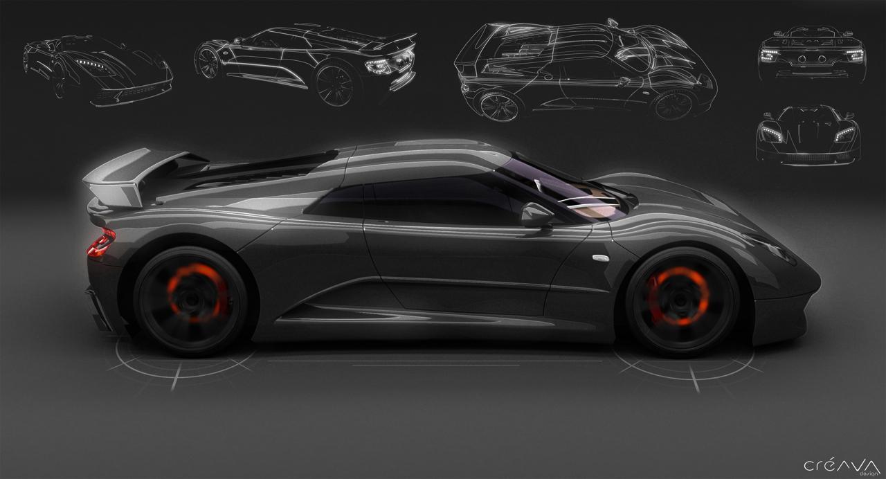 Design de l'Akylone - Genty Automobile