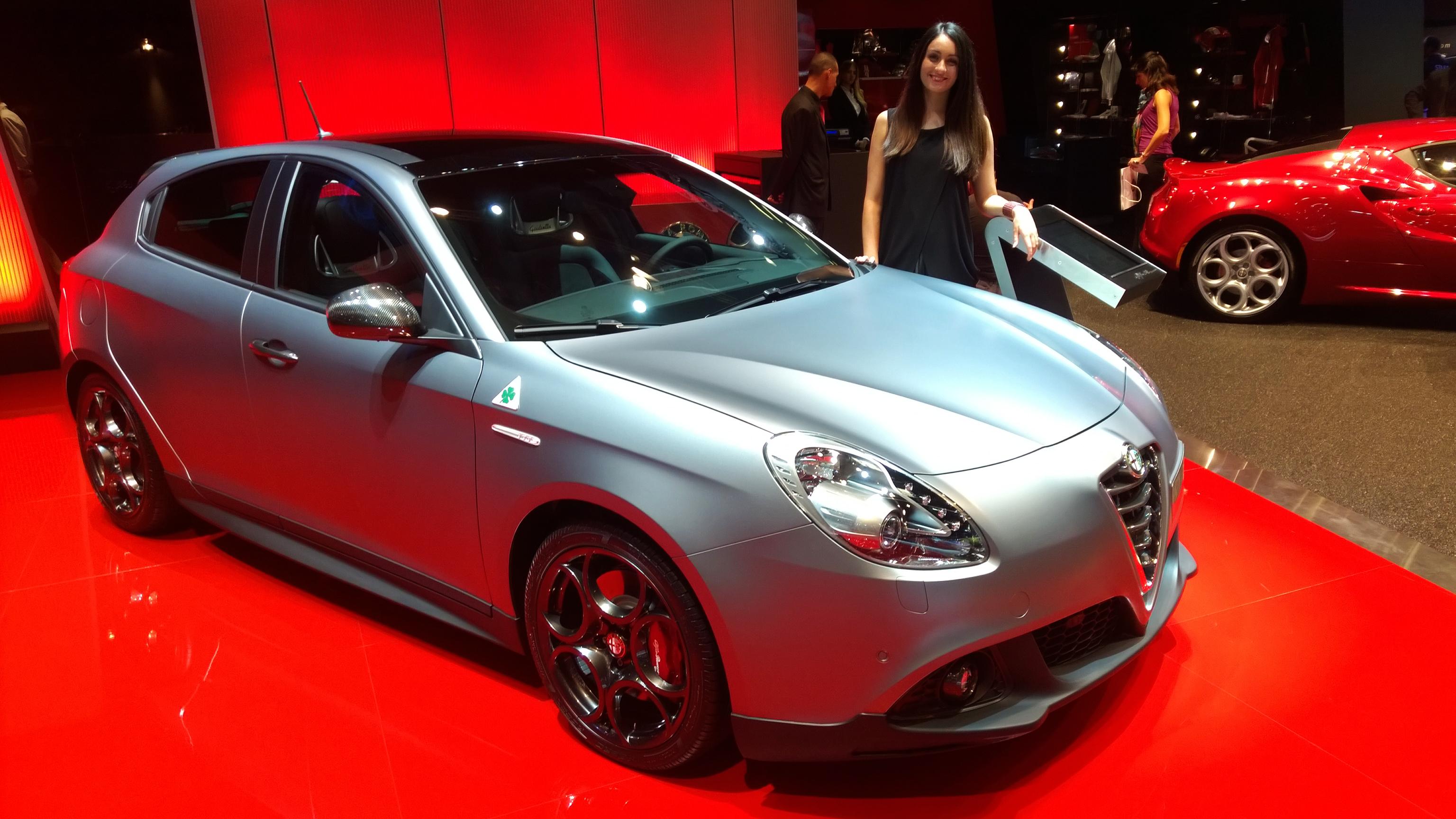 Alfa Romeo Giulietta - Paris 2014 - DESIGNMOTEUR