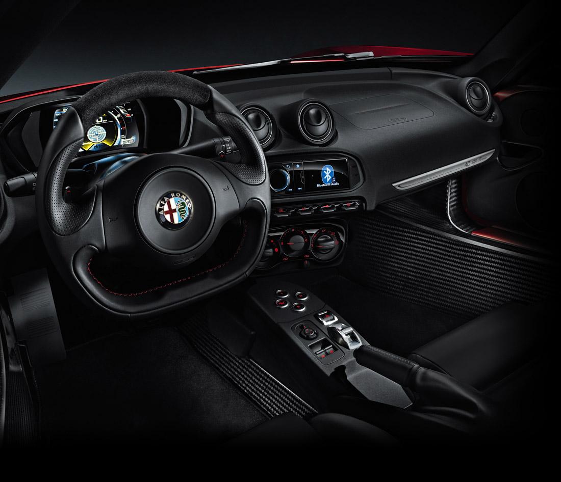Intérieur Alfa Romeo 4C