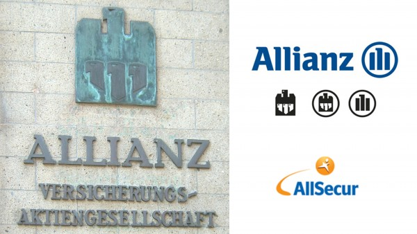 Allianz logotypes - AllSecur logotype