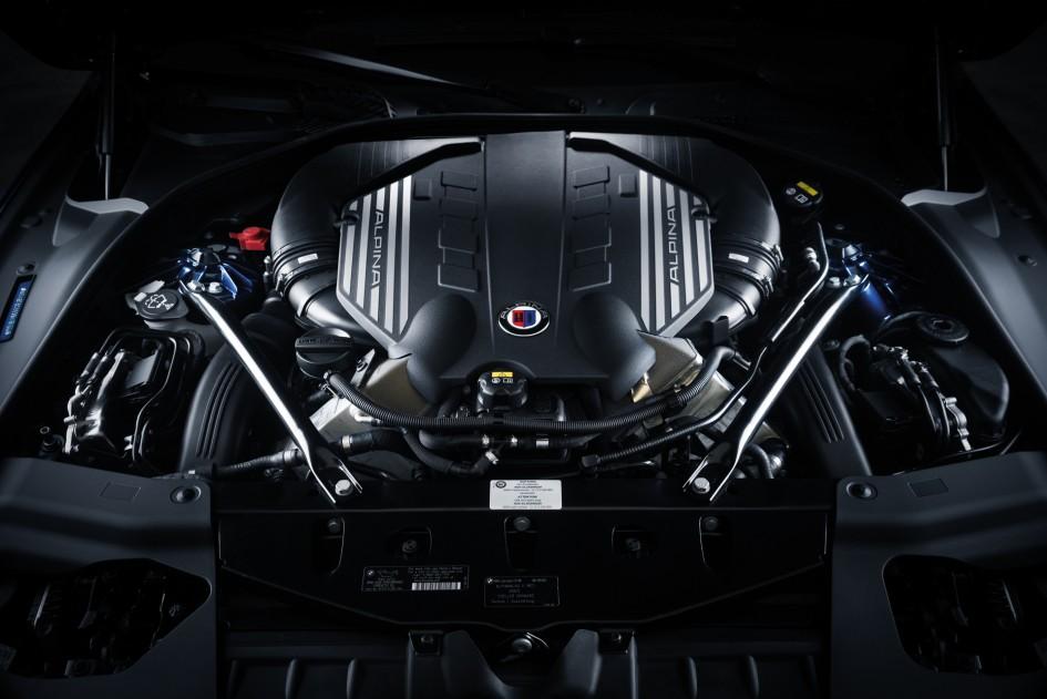 BMW 4.4-liter-V8 Alpina - moteur / engine
