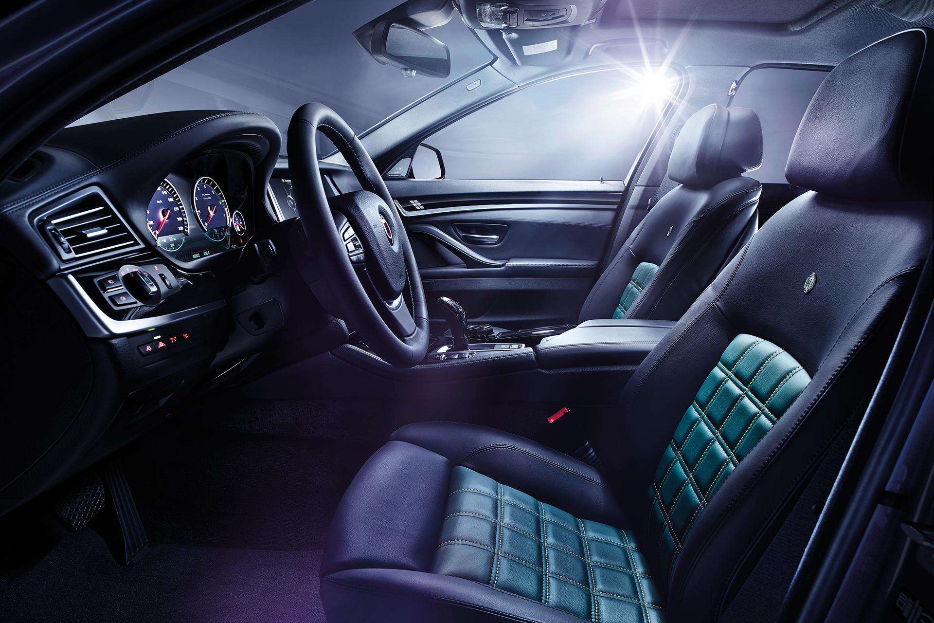 Alpina B5 Biturbo Edition 50 - intérieur / interior
