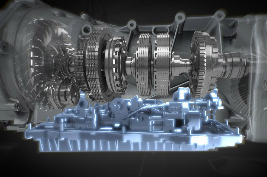 Aston Martin - gearbox ZF - rendu 3D