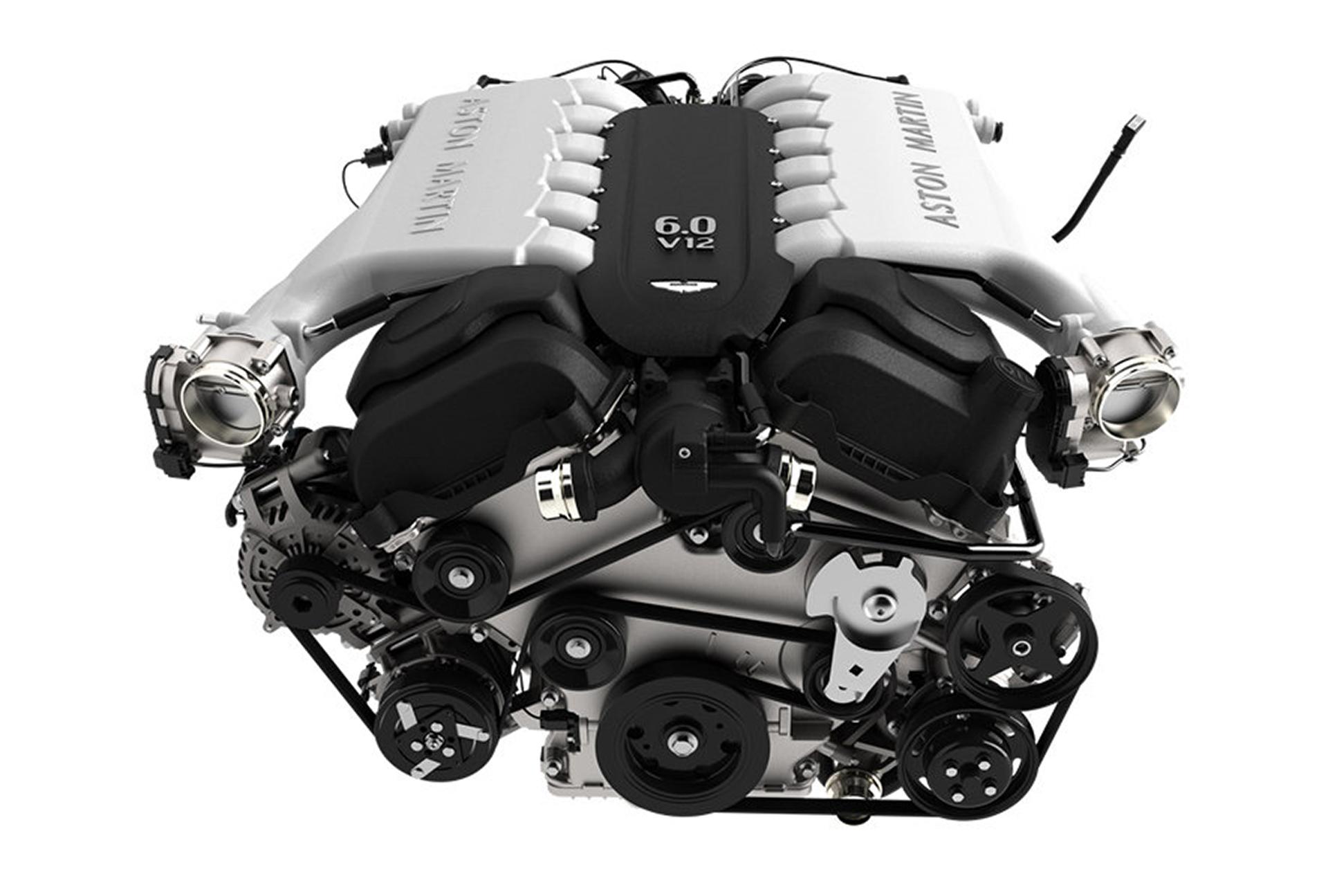 Aston Martin DB9 - V12 - moteur / engine