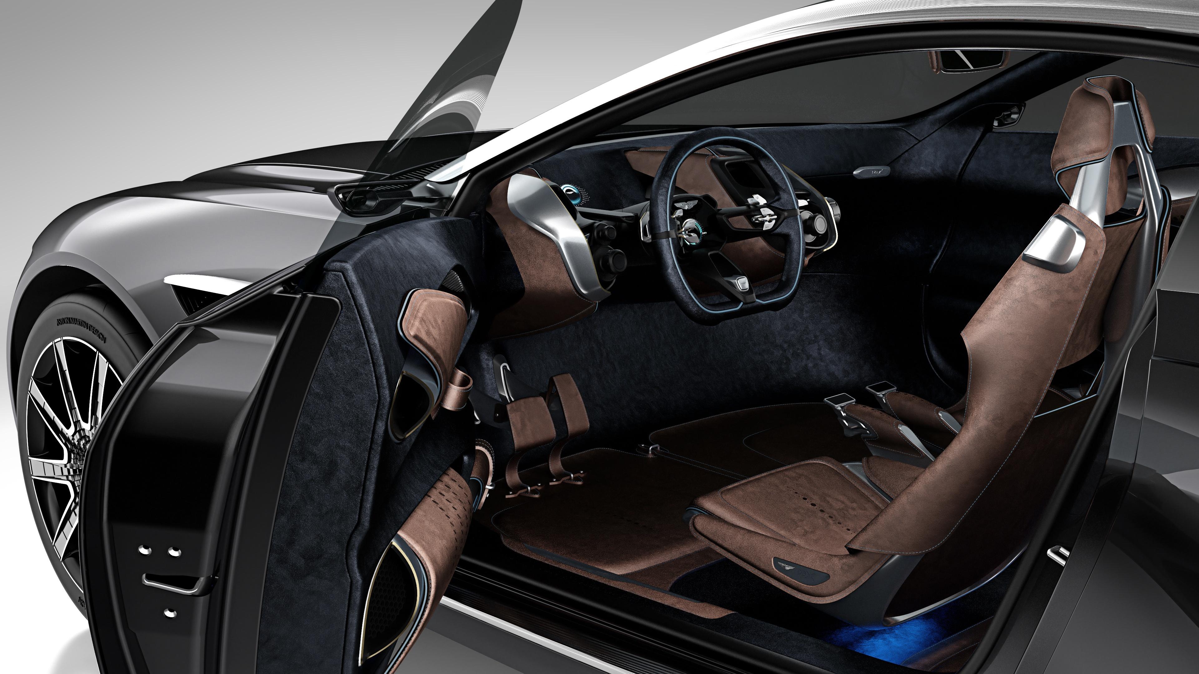 Aston Martin DBX Concept - porte ouverte