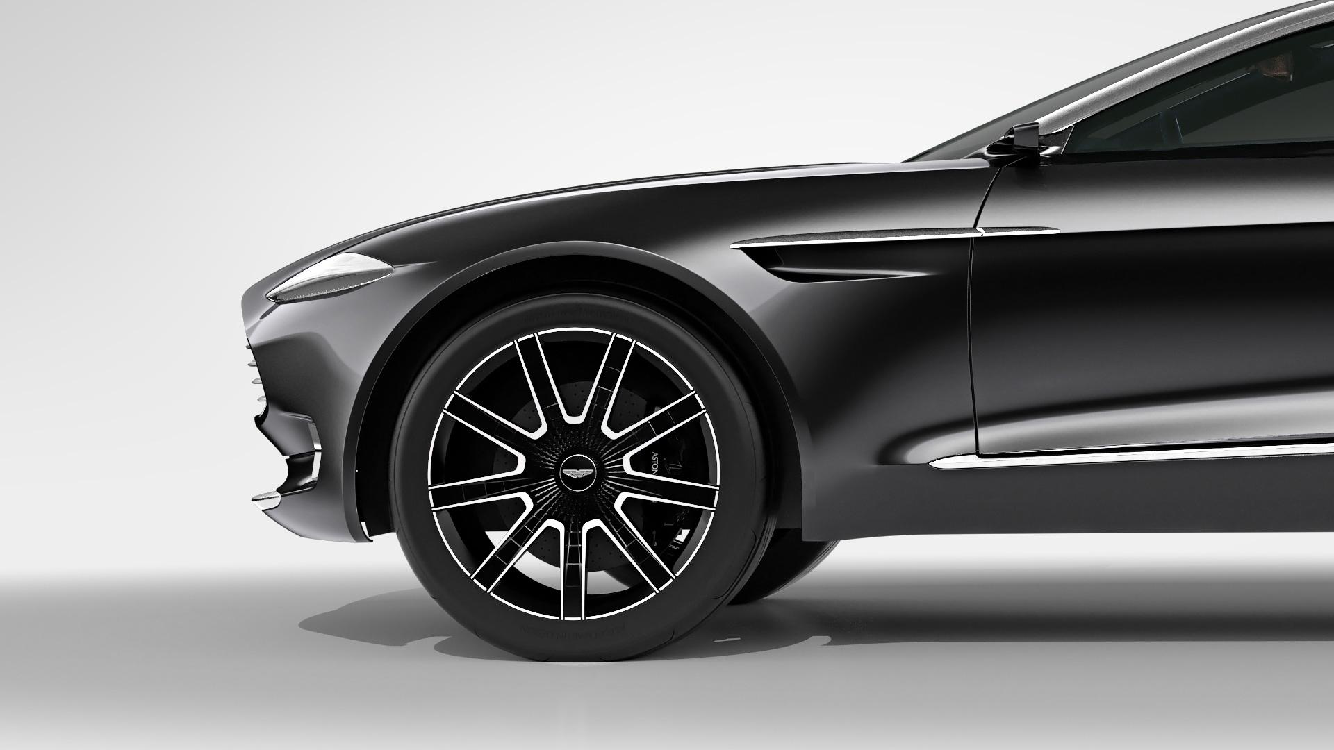 Aston Martin DBX Concept - roue/moteur