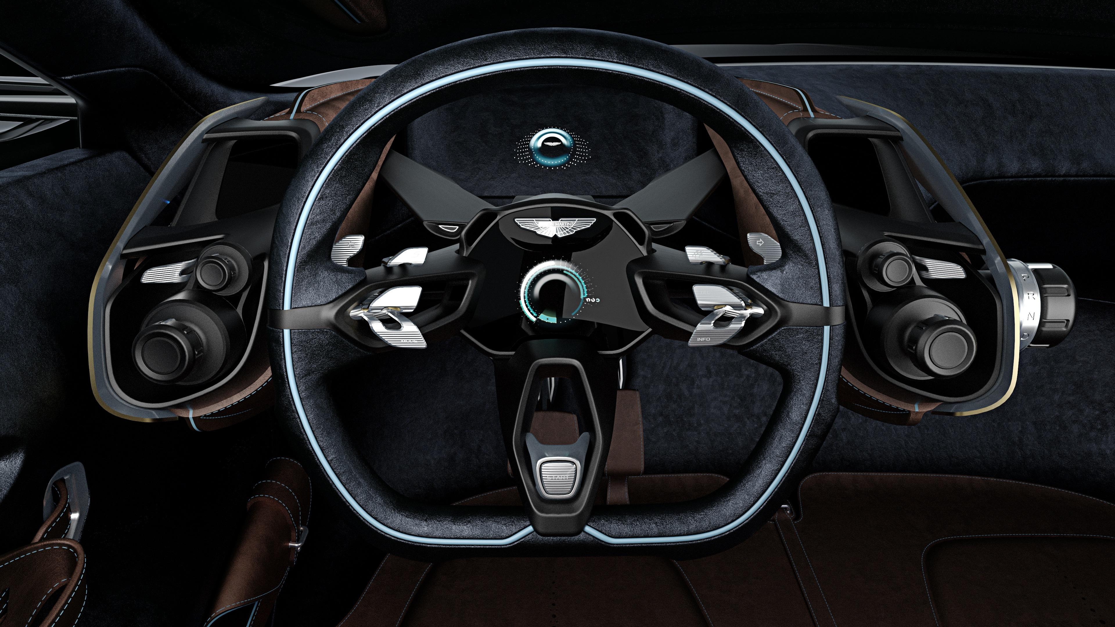 Aston Martin DBX Concept - volant